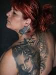 Die Osterholzerin Semra Inci trägt mehrere kunstvolle Körperbilder auf der Haut. Der Kunstverein widmet dem Thema Tattoo seine Hauptausstellung 2020.