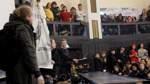 Proteste an Uni - Lucke kann erste Vorlesung nicht halten