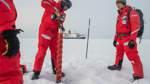Arktisforscher errichten ihr Camp
