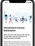 Das ist das erste Bild, das die Nutzer der Corona-Warn-App sehen. Es folgt eine sehr ausführliche Datenschutzerklärung sowie die Aktivierung der Risikoermittlung, die aber auch noch nachträglich aktiviert und jederzeit wieder deaktiviert werden kann.