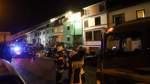 Reihenhausbrand in Walle: Mehrere Menschen aus den Betten geholt