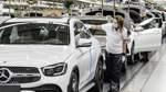 Fahren auf Sicht im Bremer Mercedes-Werk