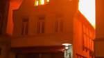 Großbrand zerstört Wohn- und Geschäftshaus am Verdener Rathaus