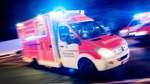 75-Jähriger bei Unfall mit Straßenbahn lebensgefährlich verletzt