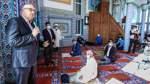 Bürgermeister Bovenschulte besucht Fatih-Moschee