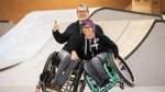 Rollstuhlskating mit David Lebuser