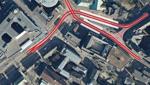 Domsheide-Umbau: Busse und Bahnen könnten vor der Glocke abfahren