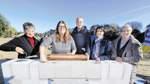 Bremer Sportsenatorin legt Grundstein für neues Horner Bad