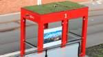Begrünte Haltestellendächer: BSAG testet Prototyp