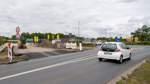 Kreisverkehr wieder befahrbar