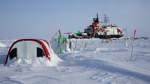 """Forschungsschiff """"Polarstern"""" unterbricht für drei Wochen seine Drift"""