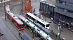 Serie - Unterwegs mit der BSAG Linie 2 - an der Domsheide -