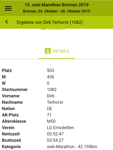 """Dirk Terhorst trackt seine Fitnessdaten mit der Laufuhr """"Cardio Runner"""" von Tom Tom."""