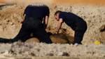 Fliegerbombe in Achim-Bollen gefunden