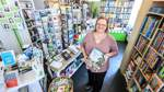 Nach Corona-Pause: Zu Besuch im Findorffer Bücherfenster