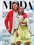"""""""Total irre"""" findet es Mikis Weber, sein Gesicht auf den Titelseiten großer Magazine zu sehen – so wie auf der """"Moda"""", einer der meistverkauften Modezeitschriften Myanmars. Im Sommer 2017 posierte er gemeinsam mit der burmesischen Schauspielerin Aye Myat Thu für eine Modestrecke."""