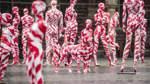 Eindrücke von der Kunstaktion auf dem Bremer Marktplatz