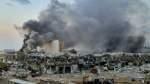 So verwüstete eine Explosion Beirut