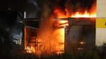 Zwei Großbrände in wenigen Stunden: Bilder einer ereignisreichen Nacht