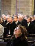 Trauerfeier und Staatsakt für Bürgerschaftspräsidenten Christian Weber - im St. Petri Dom - Caroline Linnert