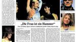 So berichtete der WESER-KURIER damals über Spears' Auftritt in Bremen.