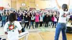 Mit Tanzen ein Zeichen gegen Aids setzen