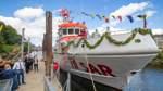 Neuer Seenotrettungskreuzer der DGzRS in der Weser getauft