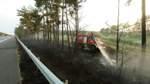 Waldbrand im Heidekreis: Wohnsiedlung evakuiert