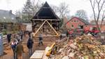 Altes Pastorenhaus in Martfeld: Verrollung ist gestartet