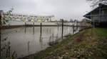 Giftschlamm aus dem Rönnebecker Hafen gebaggert