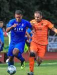 Fußball Lottopokal  - Halbfinale FC Huchting vs. Blumenthaler SV (blau)