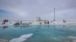 """Eisscholle der """"Polarstern"""" zerbrochen"""