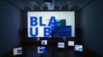 """Philipp Wienes, 30, visualisiert in seiner Installation """"Hyperaktivität"""" das Internet – einen Ort, der sich permanent wandelt, an dem """"alles immer neu"""" ist."""