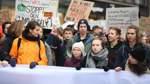 Liveblog zum Nachlesen: So demonstrierten Bremer Schüler mit Greta Thunberg