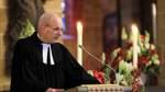 Trauerfeier und Staatsakt für Bürgerschaftspräsidenten Christian Weber - im St. Petri Dom - Pastor Peter Ulrich