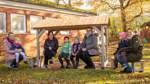 Kindergarten Worphausen freut sich über neue Bänke