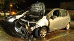 Erneut stehen Autos in Hemelingen in Flammen