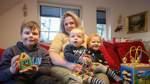 Was eine alleinerziehende Mutter ihren Kindern zum Fest wünscht
