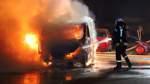Erneut zwei Autos in Bremen ausgebrannt