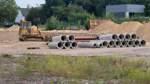 Aktueller Baustand (14.08.2020) auf dem ehemaligen Lieken Gelände