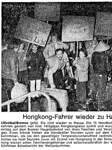 Hongkong TV Lilienthal Handball Zeitungsartikel Rückkehr