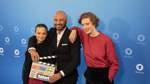 Das sind die Neuen: Jasna Fritzi Bauer, Dar Salim und Luise Wolfram (von links) sind das neue Ermittler-Team beim Bremer Tatort. Im Dezember 2019 wurden sie vorgestellt. Sie werden Liv Moormann, Mads Andersen und Linda Selb verkörpern.