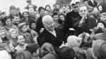 Historische Bilder: Die Besuche der Bundespräsidenten in Bremen