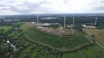 Auch Bremens höchste Erhebung, die Blocklanddeponie an der A27, war schon Motiv der Drohnenfotografen des WESER-KURIER.