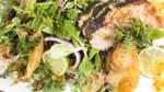 Urlaubsküche, Teil 4: Halstrad gravlax med senapssås – Graved Lachs mit Moltebeeren-Senf-Dressing