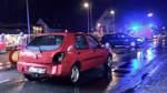 Unfall während einer Polizeikontrolle