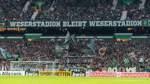 Werder reagiert auf Protest-Plakate