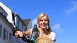 Warum Christine Dittmann eine Taube auf dem Rad mitnimmt