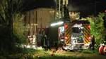 Feuerwehr löscht Brand auf Bremer Güterbahnhof