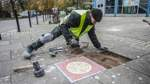 Bunte Mosaike ersetzen graue Platten